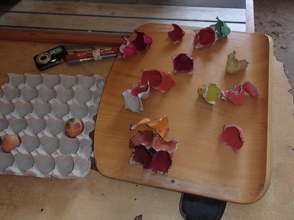 Izdelovanje pirhov v vrtcu