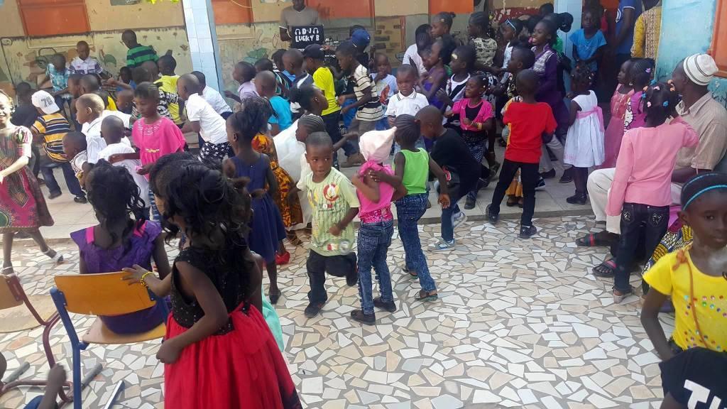 Božična zabava Afrika