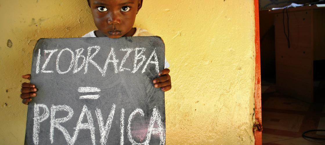 Izobrazba je pravica