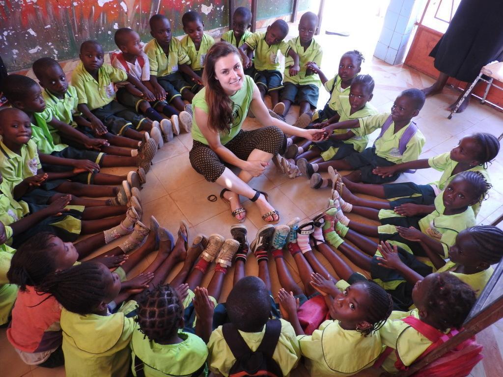 prostovoljstvo Afrika