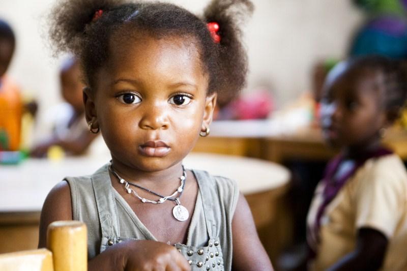 Deklica iz Gambije