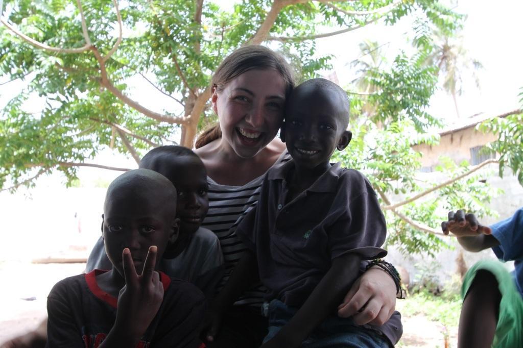 prostovoljno delo Afrika